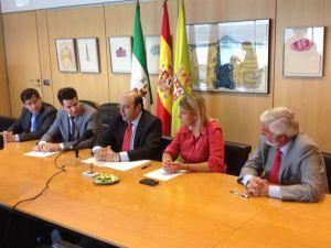 Firma de Convenio entre Diputación de Granada, Universidad de Granada y Universidad de Málaga