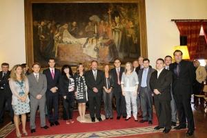 Entrega premios de Excelencia Docente 2010 – Universidad de Granada